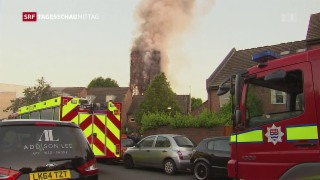 Video «Grossbrand in London» abspielen