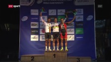 Video «Nino Schurter erneut Weltmeister («sportaktuell»)» abspielen