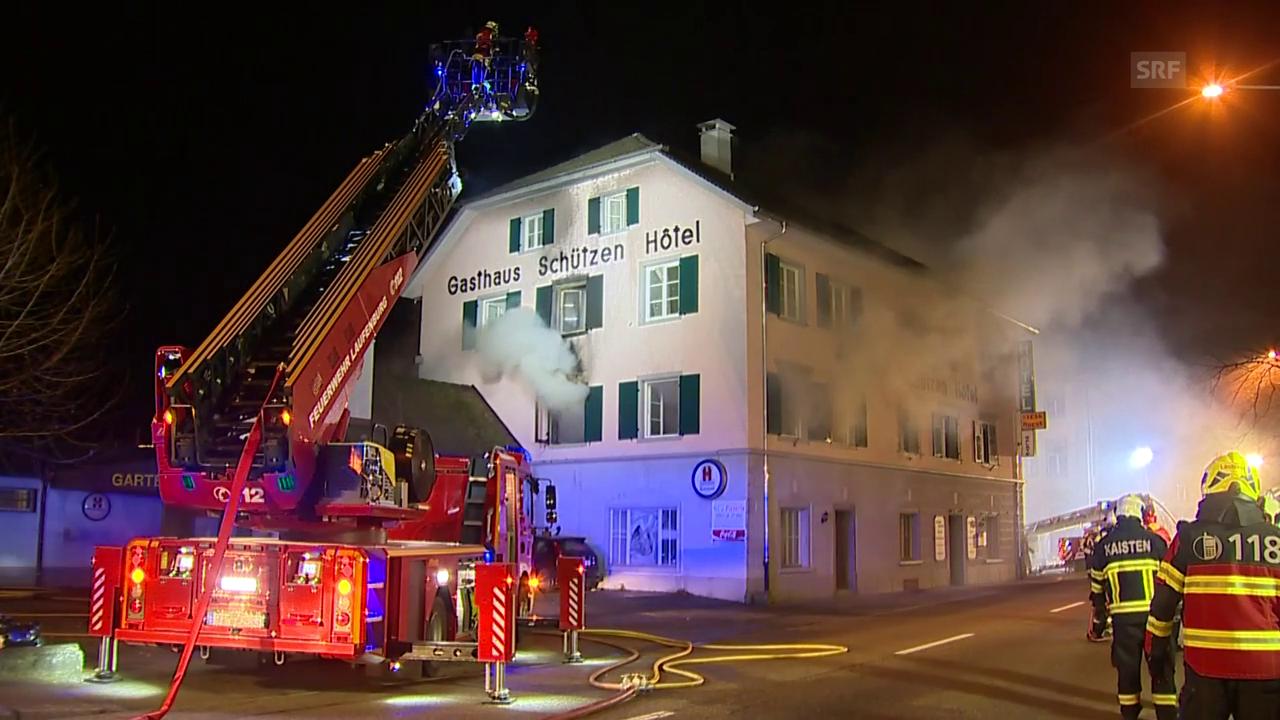 Brand in ehemaligem Hotel (unkomm.)