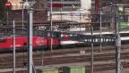 Video «SBB: Weniger Gewinn trotz Passagierrekord» abspielen