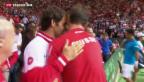 Video «Federer und Wawrinka auf Siegeskurs» abspielen
