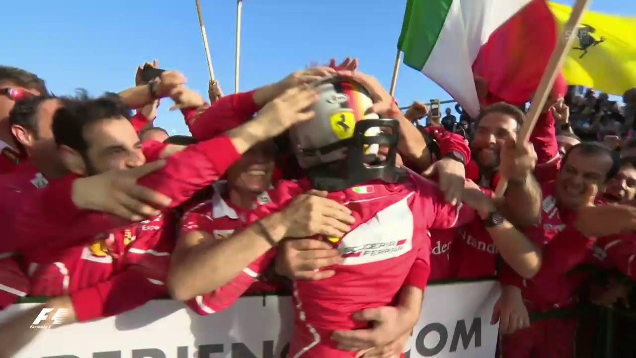Vettel düpiert in Australien das Mercedes-Team