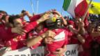 Video «Vettel düpiert in Australien das Mercedes-Team» abspielen