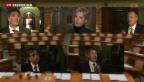 Video «Gemischte Gefühle in der Politik» abspielen