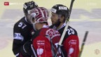 Video «Eishockey: Champions League, Genf - Briançon» abspielen