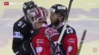 Video «Eishockey: Champions League, Genf - Briançon» abspielen