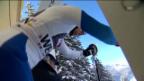 Video «Ski alpin: Der Superkombi-Slalomlauf von Marc Berthod («sportlive»)» abspielen