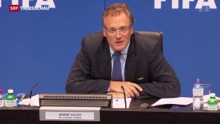 Video «Bundesanwaltschaft prüft Fifa-Fall rund um Jérôme Valcke» abspielen