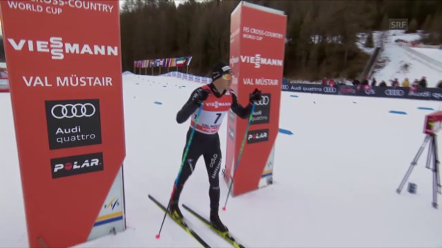 Laschar ir video «Il Tour de ski - ina resumanziun dad SRF (en tudestg)»
