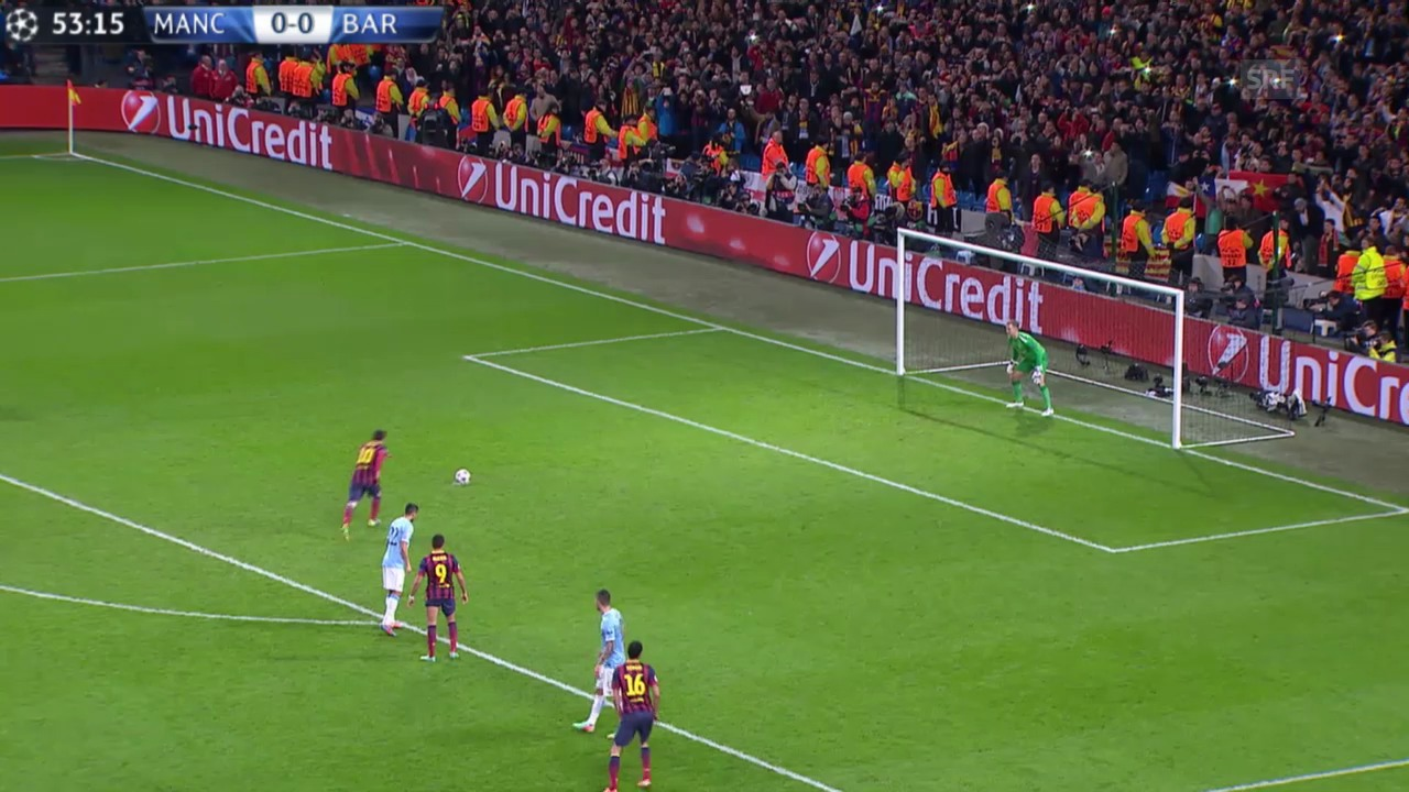 Fussball: Highlights Manchester City - Barcelona («sportlive», 18.02.2014)