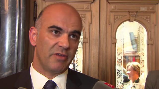 Bundesrat Berset zum Scheitern der IV-Revision