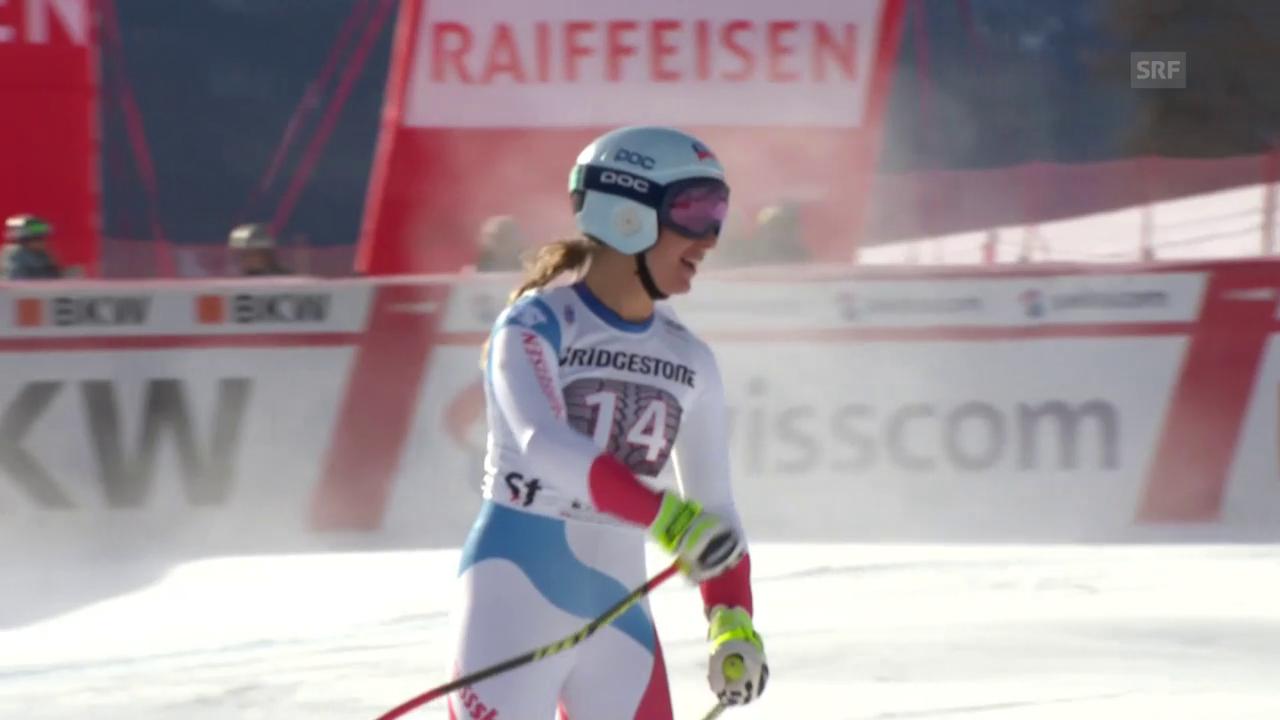 Flury überrascht im Super-G von St. Moritz