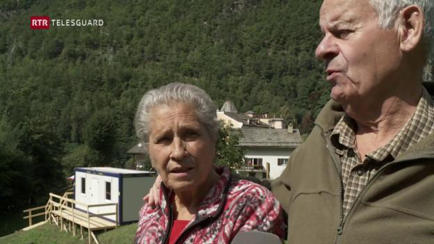 Laschar ir video «Chadaina da fortuna ha infurmà co ils daners vegnan repartids»