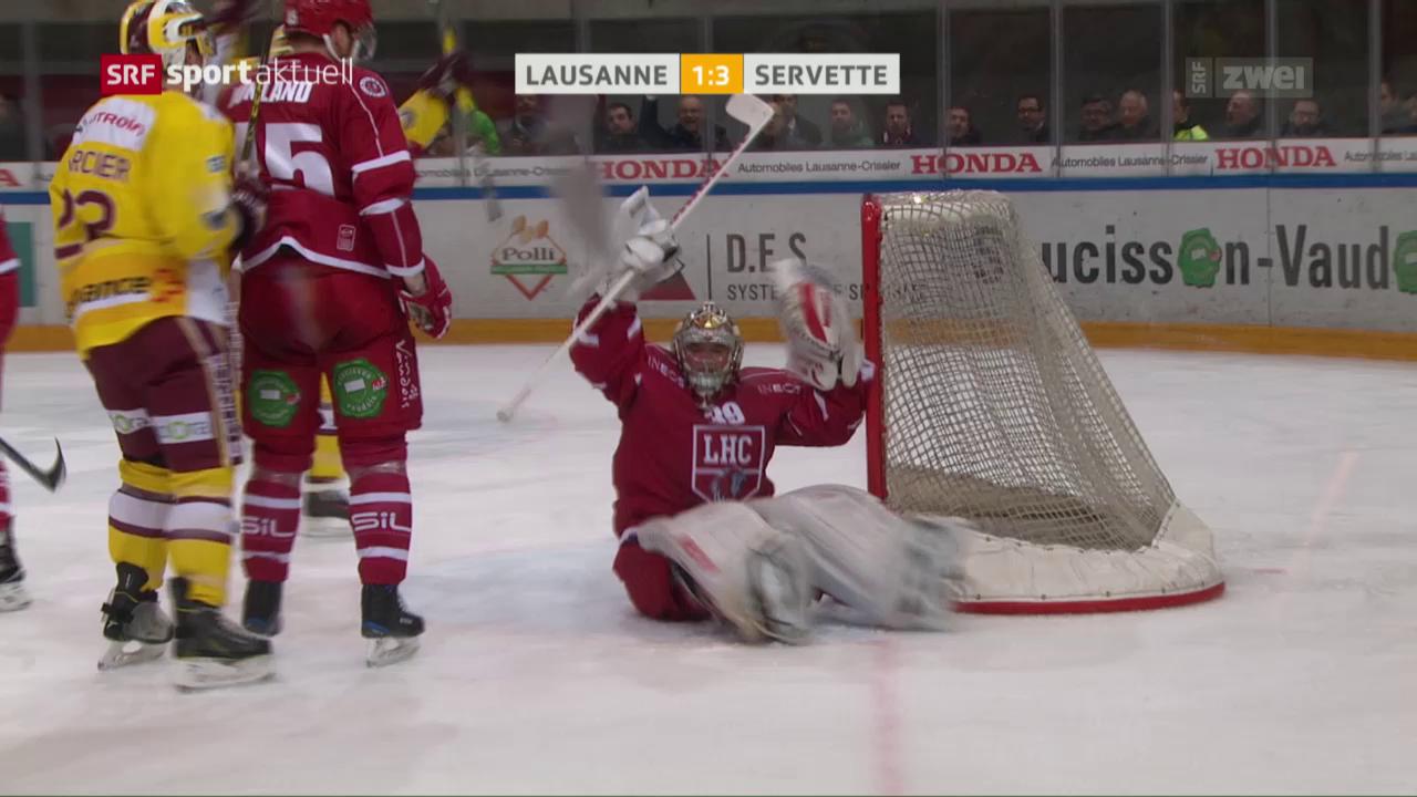 7 starke Genfer Minuten reichen gegen Lausanne