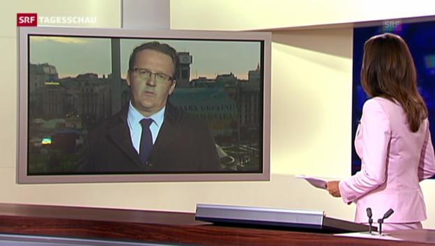 Video «SRF-Korrespondent Christof Franzen zum Absturz der MH17» abspielen