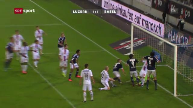 SL: Luzern - Basel («sportaktuell»)