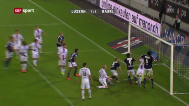 Video «SL: Luzern - Basel («sportaktuell»)» abspielen