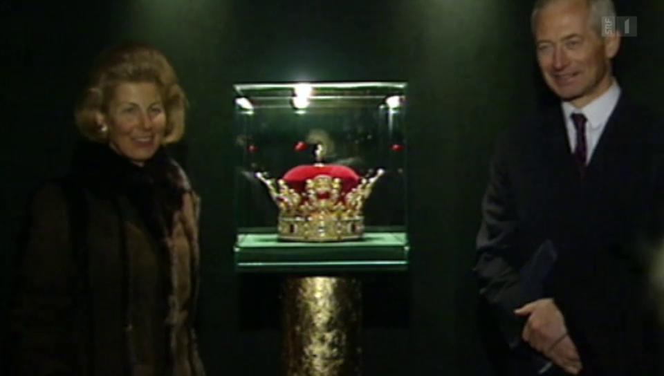 Archiv: Fürst Hans Adam und Fürstin Marie von Liechtenstein