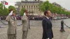 Video «Amtsübergabe an Macron» abspielen