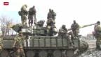 Video «Ukraine hat den Abzug schwerer Waffen abgesagt» abspielen