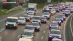 Video «Verkehrschaos wegen Sojabohnen» abspielen