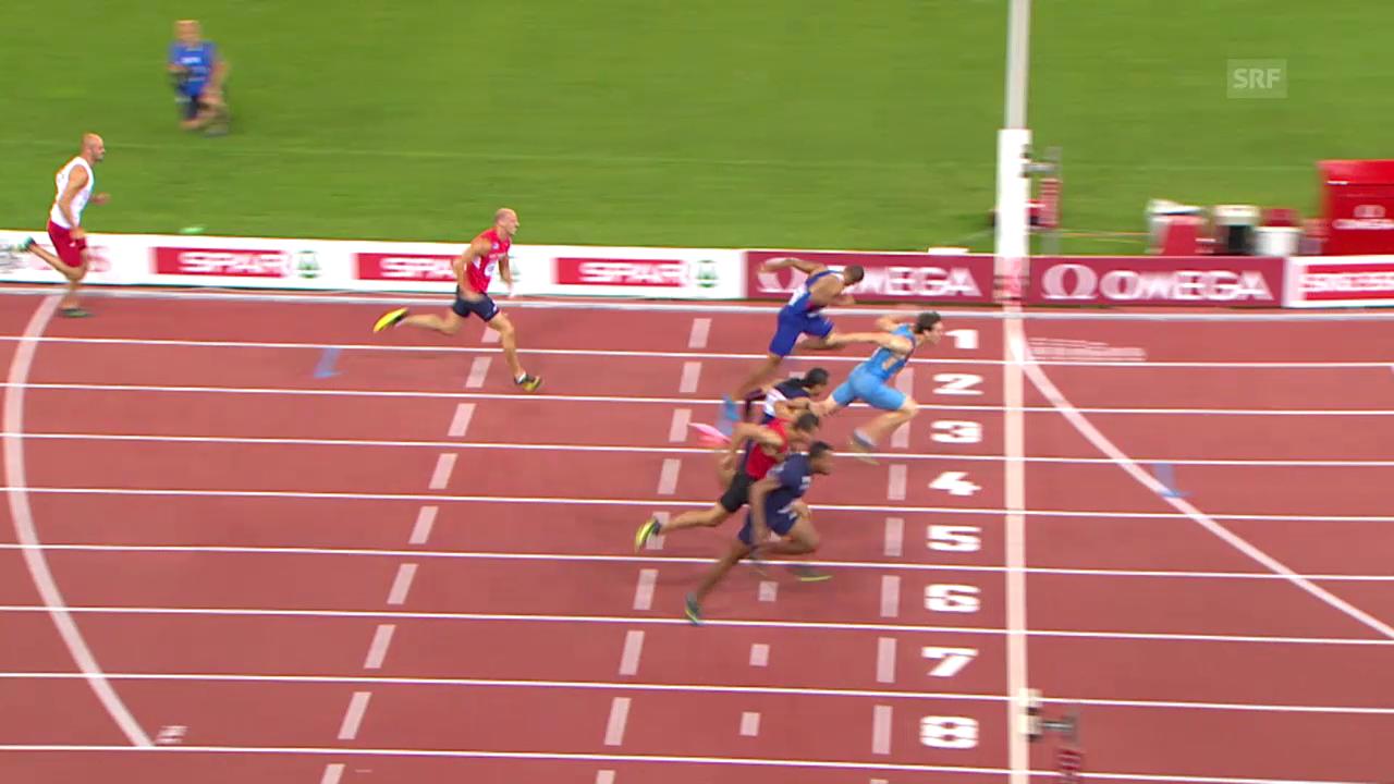 Leichtathletik: Der Final über 110 m Hürden