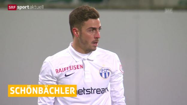 Video «Fussball: Marco Schönbächler bleibt beim FCZ» abspielen