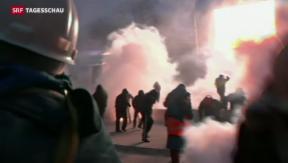 Video «Ukraine: Grossdemonstration trotz Verbot» abspielen