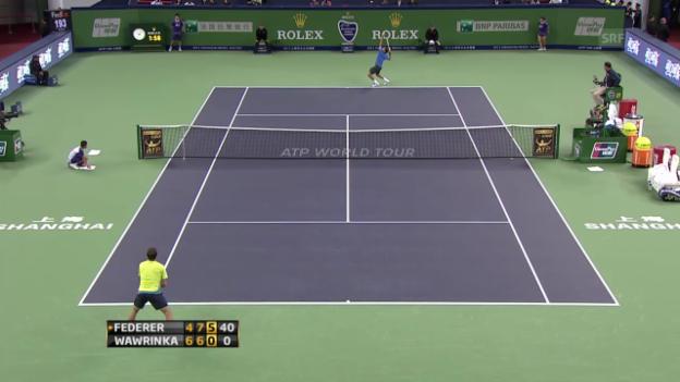 Video «Tennis: Rückblick Schanghai» abspielen