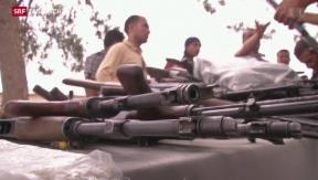 Video «Westliche Hilfe für irakische Peschmerga-Kämpfer» abspielen