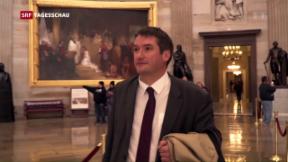Video «Christian Levrat auf Mission in Washington» abspielen