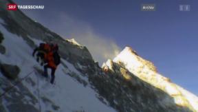 Video «Bergsteigen als Big Business» abspielen