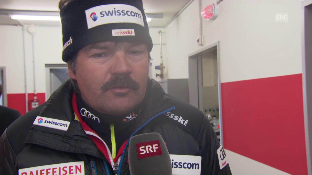Cheftrainer Tom Stauffer: «Bitter, denn wir wären bereit gewesen»