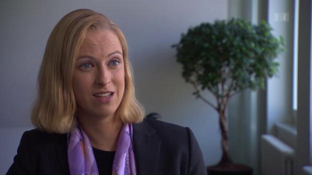 Video «Veronica Weisser über die, die bezahlen müssen» abspielen