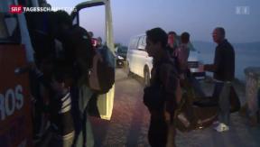 Video «Flüchtlingslage auf Kos weiter angespannt» abspielen
