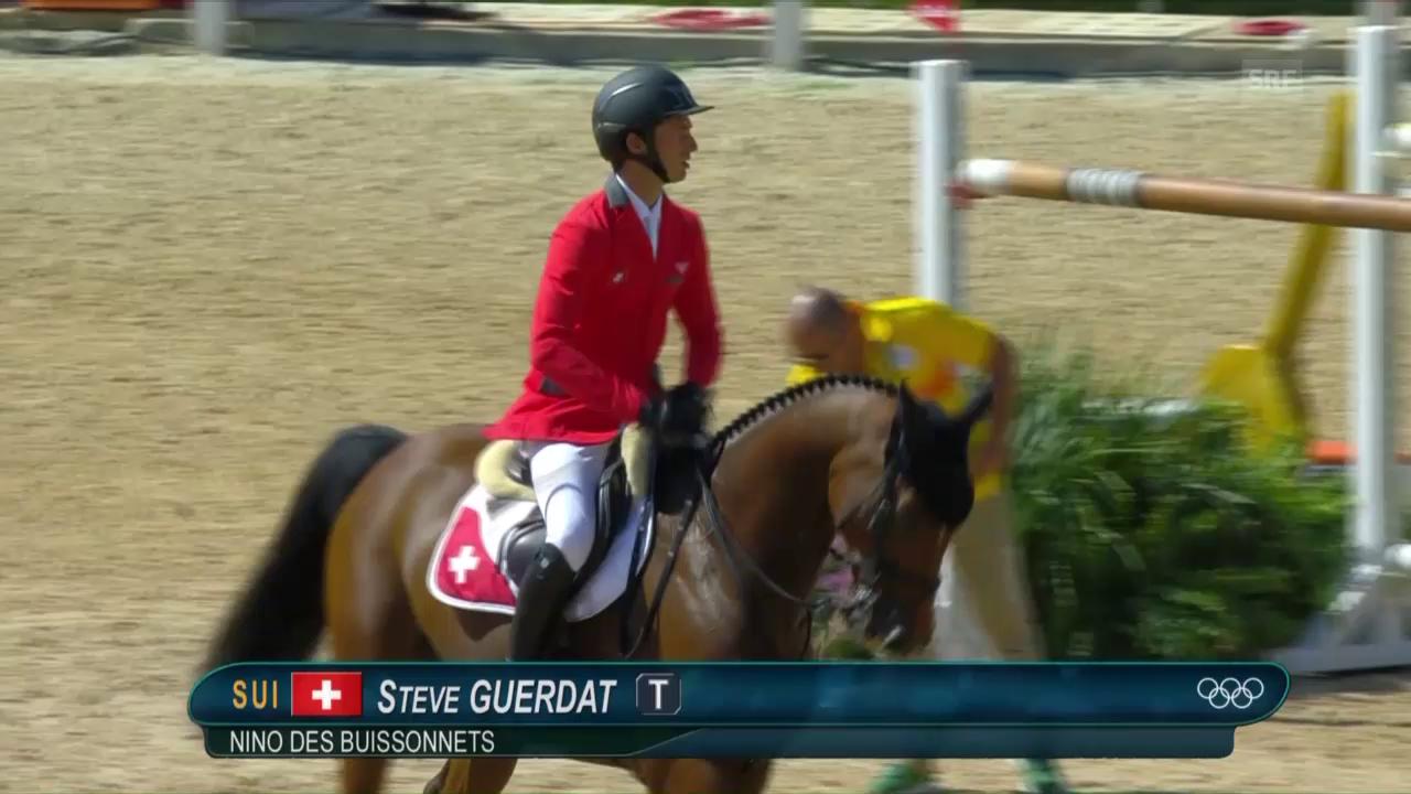 Steve Guerdat bleibt fehlerfrei