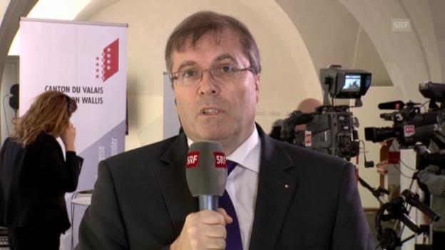 Video «Jean-Michel Cina: «Umsetzung wird schwierig» abspielen