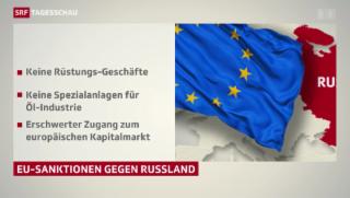 Video «EU will Russland noch mehr unter Druck setzen» abspielen