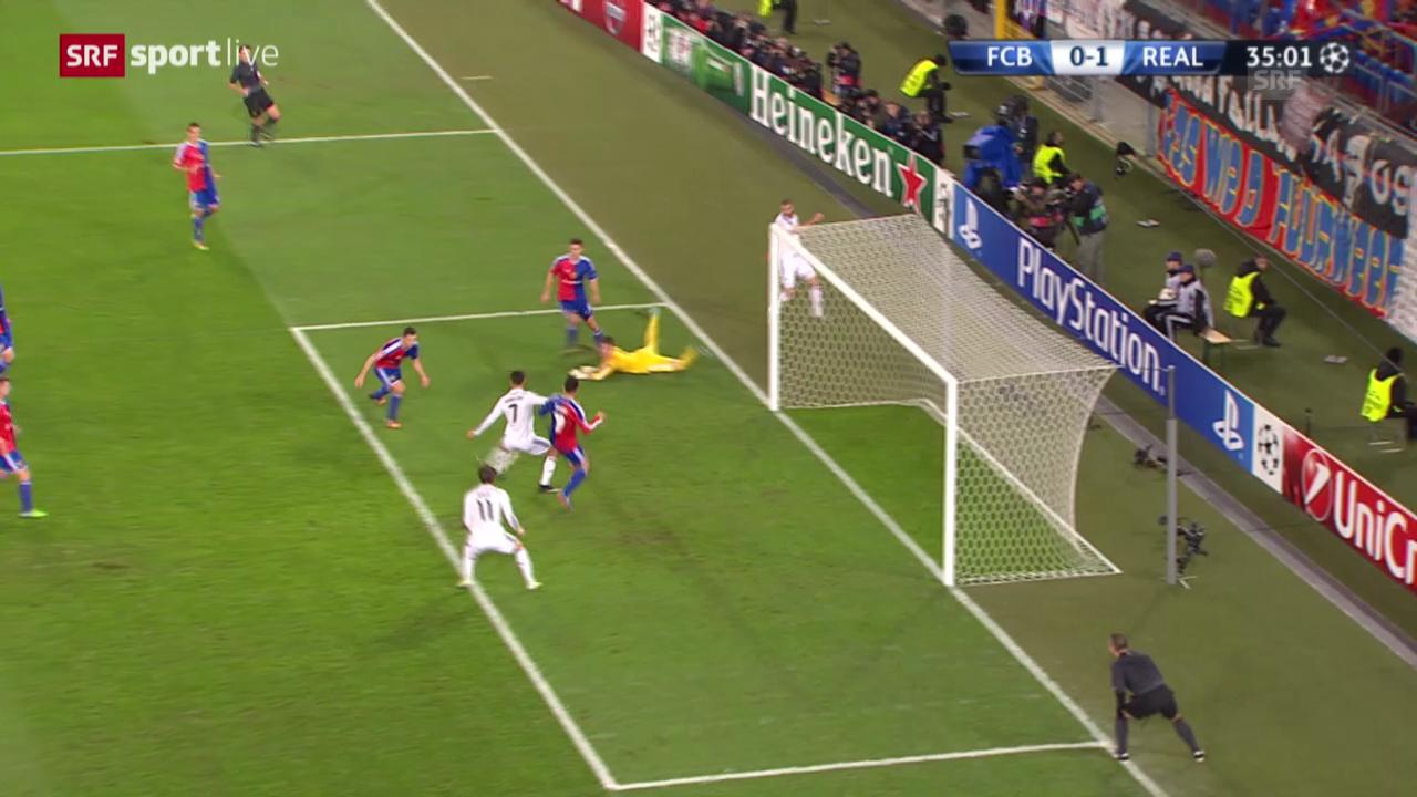 Die Live-Highlights aus Basel-Real Madrid