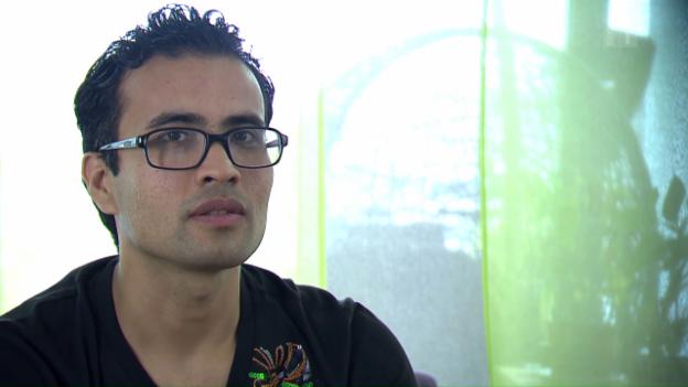 Video «Vom Flüchtling zum Lehrling: Ali Heidari packt die Chance» abspielen