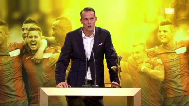 Video ««Sports Awards»: Auszeichnung FC Basel» abspielen