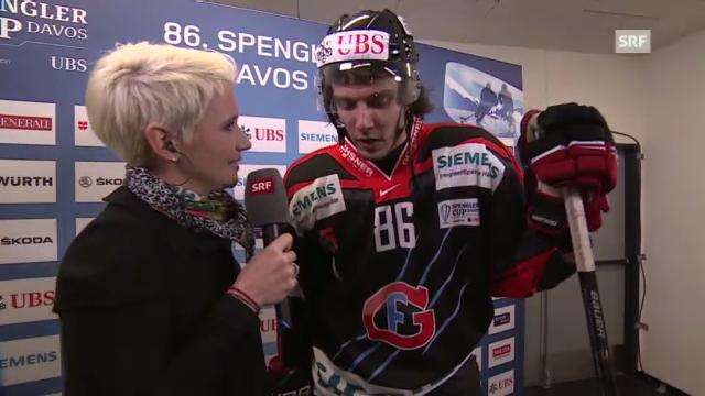 Spengler Cup: Julien Sprunger im Interview