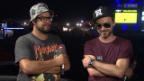 Video «Interview mit Greis und Baze von Chlyklass - Openair Frauenfeld 2015» abspielen