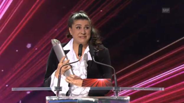 Video «Cecilia Bartoli gewinnt den «SwissAward» in der Kategorie Kultur» abspielen