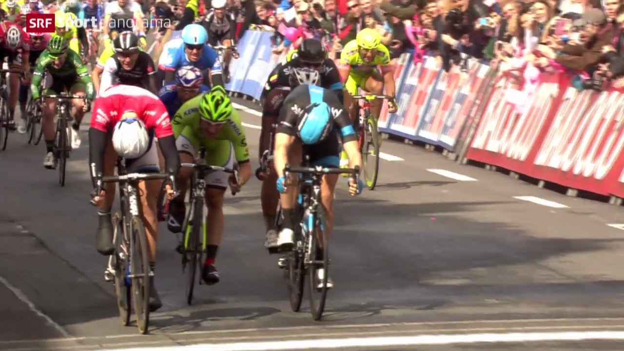 Rad: Giro d'Italia, 3. Etappe