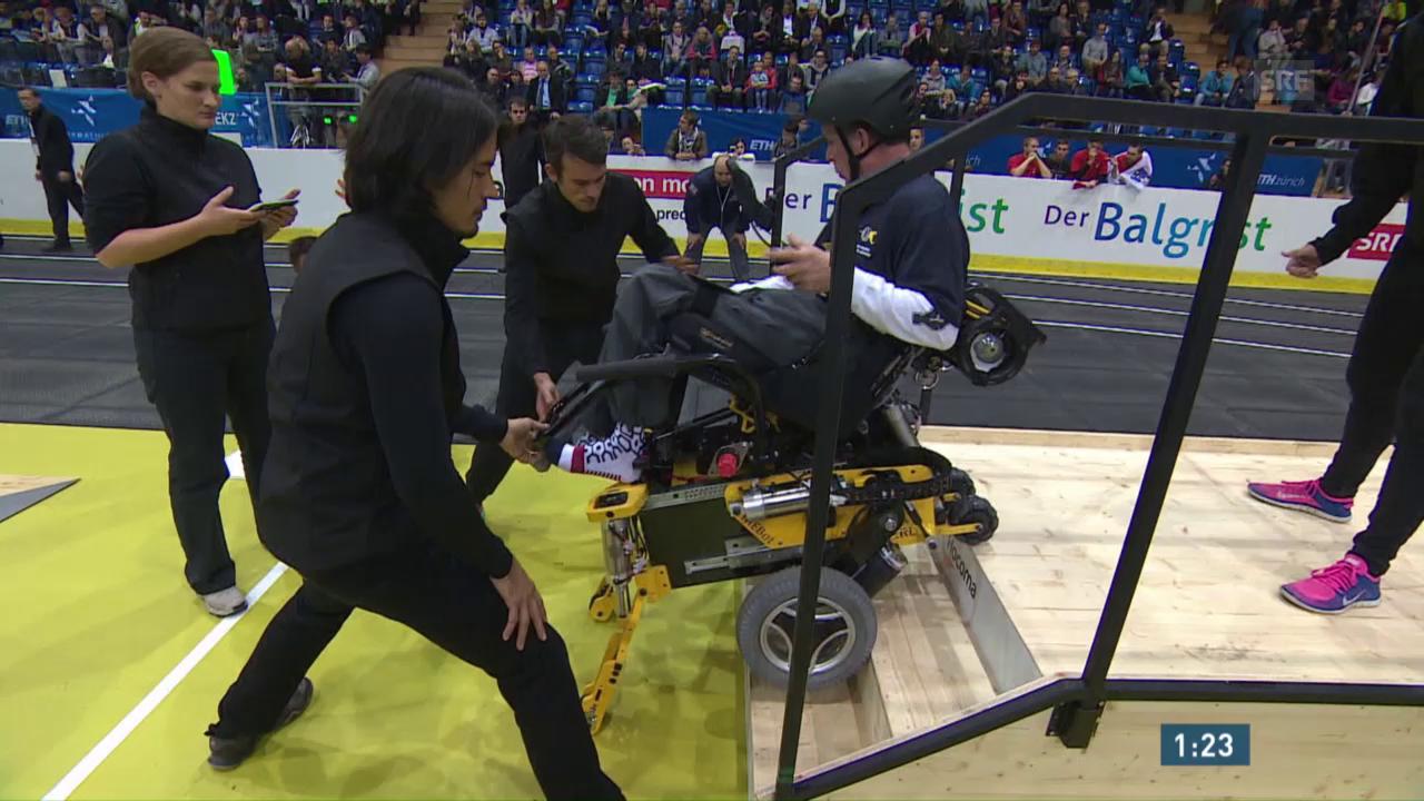 Qualifikation: Rollstuhl-Parcours