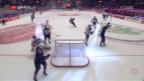 Video «ZSC scheidet trotz 2:0-Führung im CHL-Viertelfinal aus» abspielen