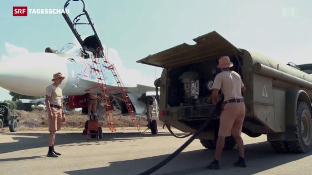 Video «Der Syrien-Einsatz Russlands» abspielen