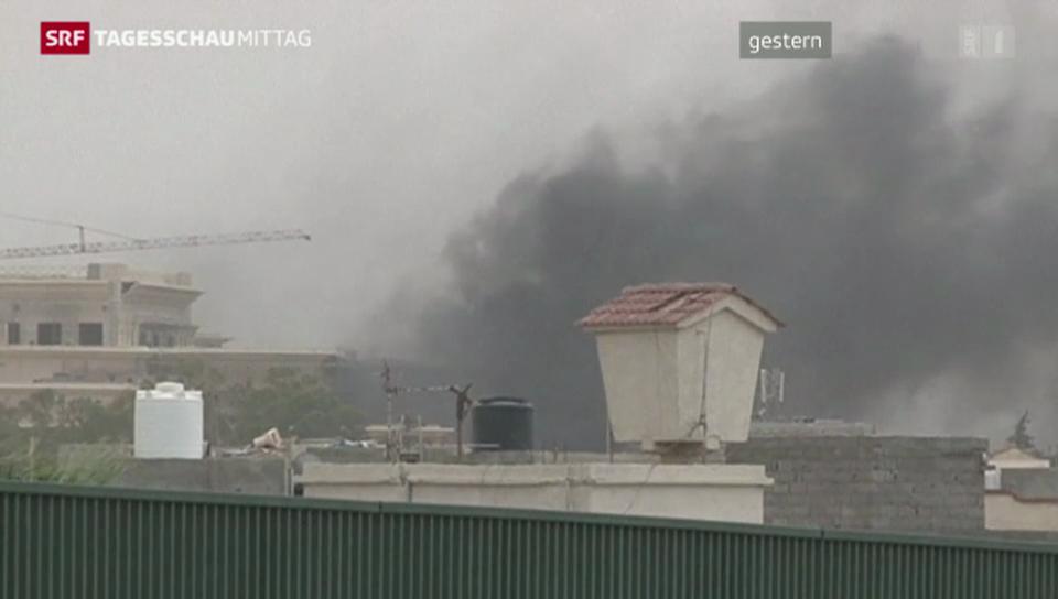 Parlament in Libyen angegriffen