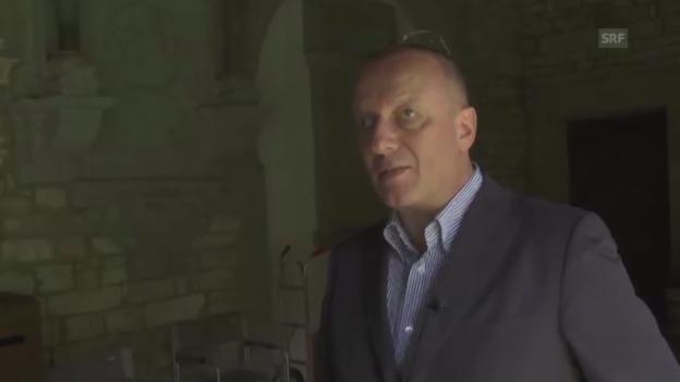 Video «Roger De Weck, Generaldirektor SRG SSR» abspielen